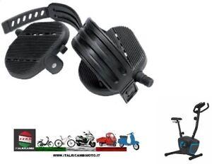 Pedali-Ciclo-Camera-Ciclette-con-Laccio-Ferma-Piede-in-Gomma