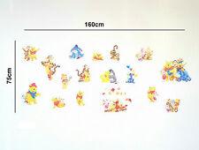 Wandtattoo Wandsticker XXL Set Winnie Pooh Wandaufkleber Kinderzimmer Disney D14