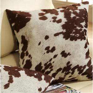 Remarkable Details About Cow Hide Pillows 2 Throw Pillow Set Couch Bed Rustic Country Cabin Accent Decor Dailytribune Chair Design For Home Dailytribuneorg