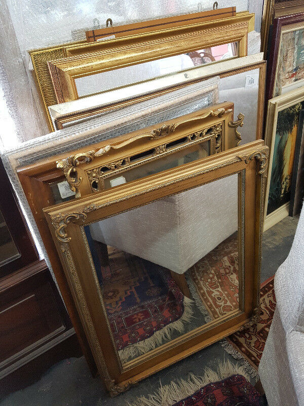 LOVELY SELECTION OF MIRRORS.....Various sizes, shapes, colours and styles