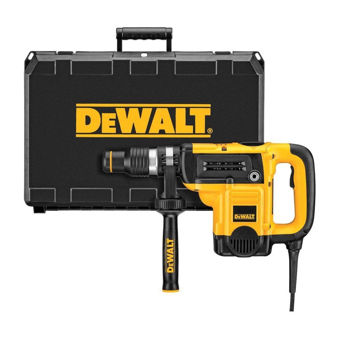 DeWALT Kombihammer D25501K SDS-max 1100W, 8,0J - inkl. Zusatzgriff u. Koffer
