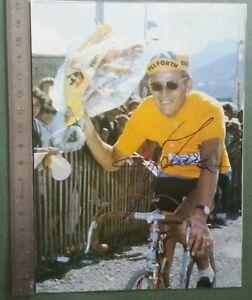 BB22-Photo-dedicacee-Autographe-BE-Course-cycliste-maillot-jaune-jan-janssen