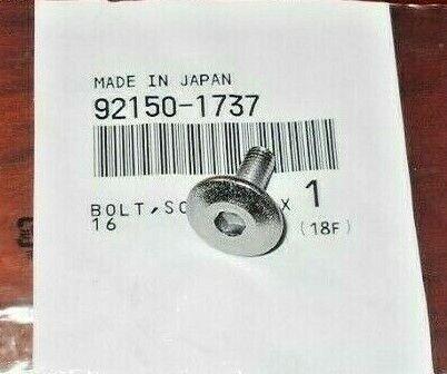 KAWASAKI KX65,KX80,KX85,KX100,KX125,RM65,RM100 KICK START LEVER MOUNTING BOLT