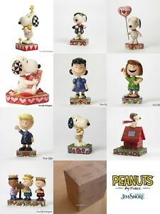 Peanuts By Jim Shore Figurines Charlie Brown Snoopy Schroeder