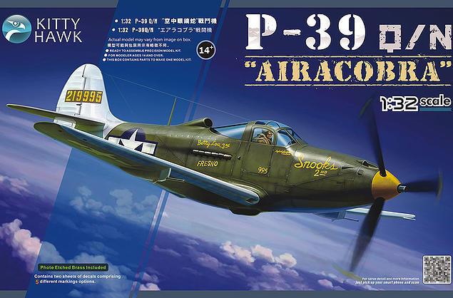 Kitty Hawk 1 32 Bell P-39Q N Airacobra