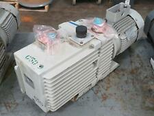 New Listingleybold D90a Dual Stage Rotary Vane Vacuum Pump W Motor For Repair