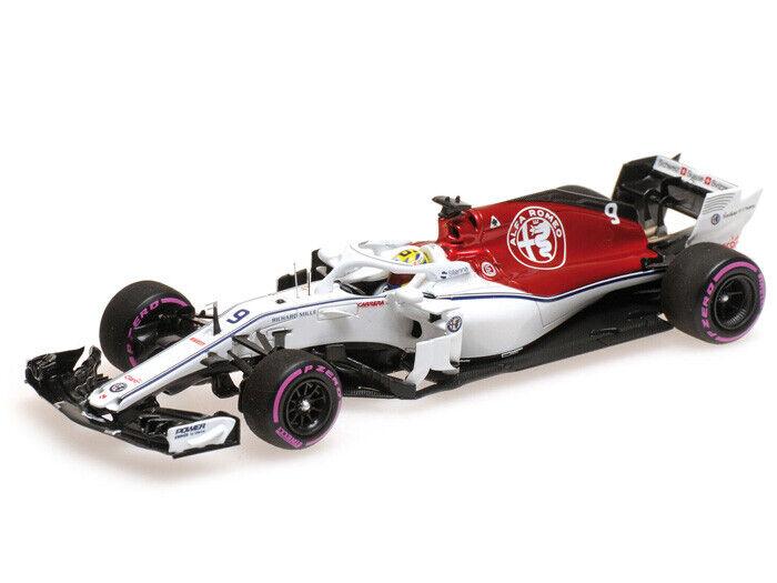 Minichamps 1 43 417 180409 Alfa Romeo Sauber C37 F.1 Ferrari Ericsson