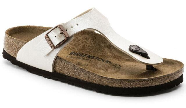 Birkenstock Gizeh Graceful Sandale 2015 Pearl White 39 943871