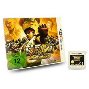 Nintendo-3DS-Super-Jeu-Street-Fighter-IV-3D-Edition-dans-Emballage-D-039-Origine