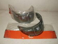 Two #136591 Smoke Faceshields for Kimpex CKX Modulex, RR800, RR750& RR600 Helmet