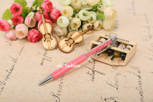 CRYSTAL Ballpoint Pen Made with CRYSTAL ELEMENTS+Refill+pouch bag Gift