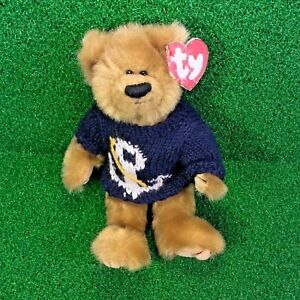 d3fea6822a6 Rare Ty Attic Treasures Salty The Bear Retired Jointed Plush Toy ...