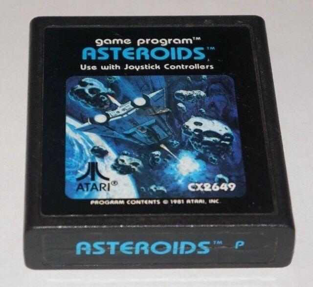 Asteroids - Atari 2600, 1981 - ede