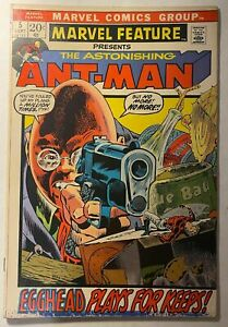 MARVEL-FEATURE-5-ASTONISHING-ANT-MAN-English-5-0-FINE-CONDITION-1972