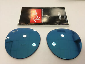 venta minorista 15c57 c7e1c Details about CRISTALES RAY-BAN ROUND METAL RB3447N 001/90 50 REPLACEMENT  LENS LENSES RB3447N