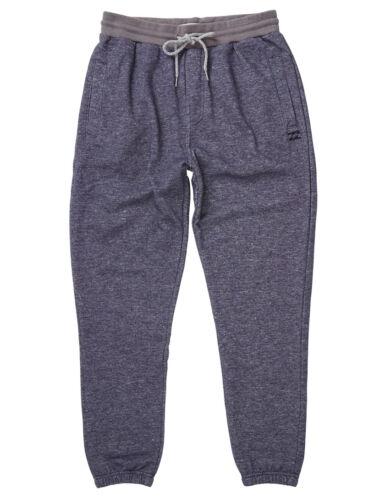 Billabong Equilibrio Polsino Sudore Pantaloni in blu scuro mélange