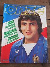 ONZE - N°64 - Avril 1981 Maradona Dropsy Sochaux Bettega Cruijff Complet Poster