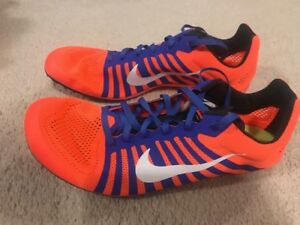 premium selection 246c1 9281f Image is loading NWOB-Nike-Zoom-D-Distance-Track-Spikes-Men-