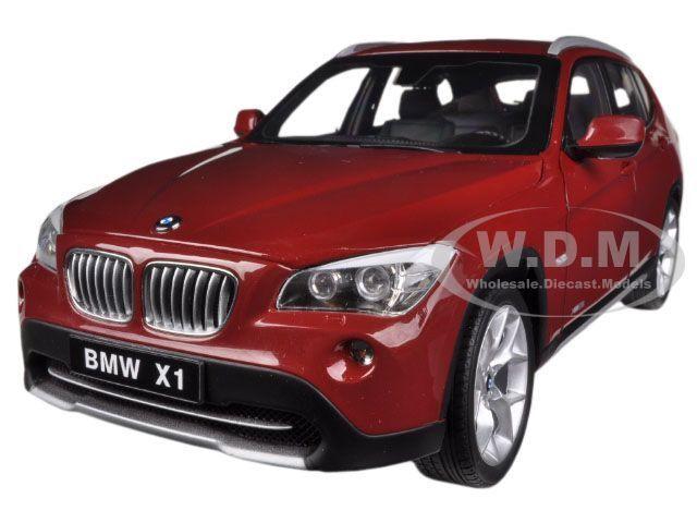 Bmw x1 xdrive 28i (e84) vermillion rot 1   18 ein diecast modell - auto von kyosho 08791