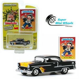 Greenlight 1//64 Garbage Pail Kids 2 Greaser Greg 1955 Chevy Bel Air 54030A