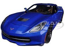 2014 CHEVROLET CORVETTE C7 Z51 BLUE STINGRAY 1:18 MODEL CAR BY MAISTO 31677