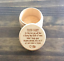 Personalized Wood Tooth Fairy Box Laser Engraved