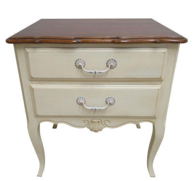 """""""*PERFECT** Ethan Allen Nightstand Country French Maison"""