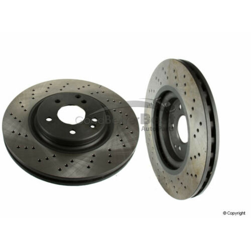 One New OPparts Disc Brake Rotor Front 40533168 2034211312 for Mercedes MB