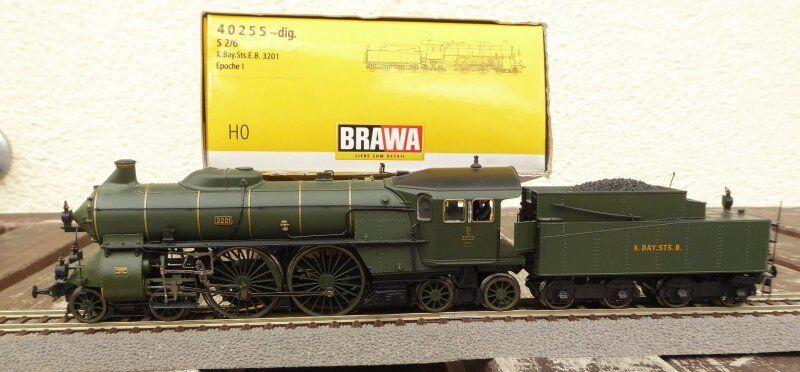 Brawa 40255 H0 Locomotive à Vapeur AC Série S 2 6 Bayern Ep.1 Numérique +