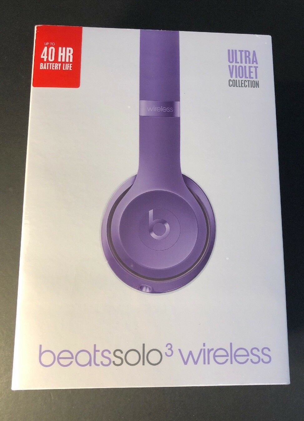 Beats by Dr. Dre Solo3 Over-ear Wireless Headphones - Purple for ... fcefd2f284