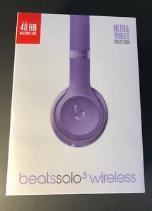 Beats by Dr Dre Solo3 Wireless Headphone   Ultra Violet Special ... 8ac20f498