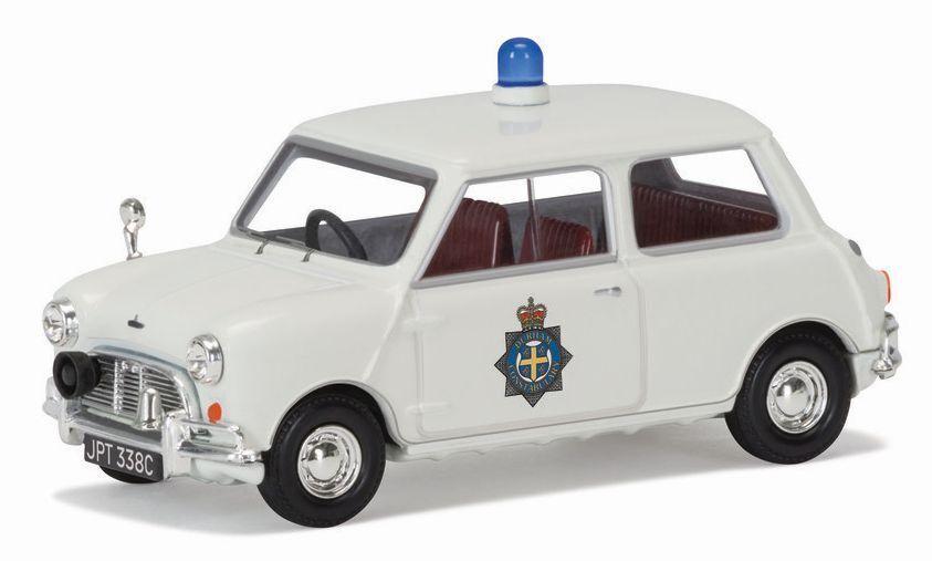 1 43 Scale Corgi VA02540 1965 Mini Cooper S - Durham Constabulary - BNIB