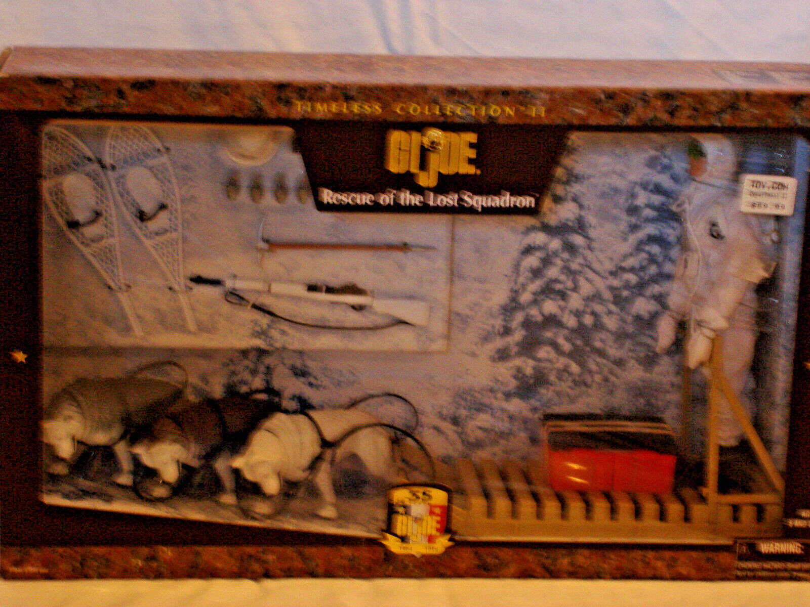 GI Joe Rescue Of The Lost Squadron Timeless Collection II NIB