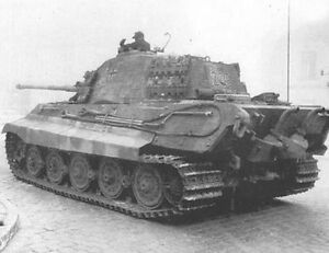 6x4-Gloss-Photo-ww4687-World-War-2-II-WW2-War-Photos-Tiger-2-From-Rear