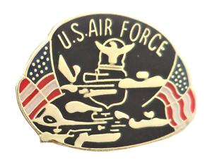 United States Air Force USAF Small Pin Badge LAST FEW