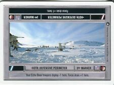 Star Wars CCG Hoth White Border Hoth : Defensive Perimeter [Light Side]