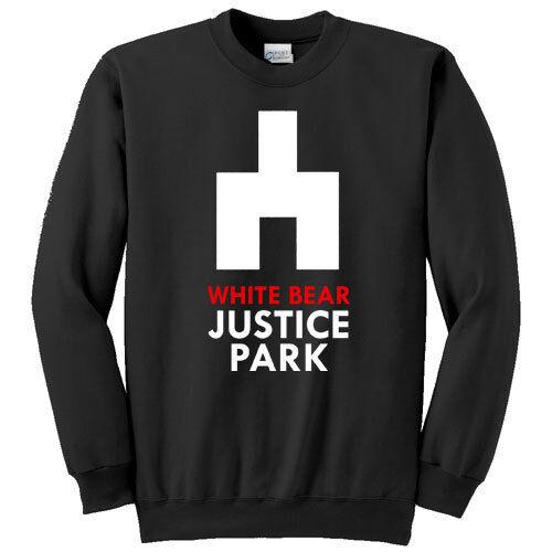Felpa unisex White Bear Justice Park Black Mirror inspired serie tv