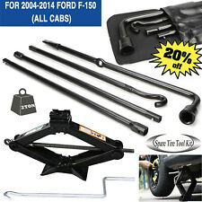 For Ford F 150 2004 2014 Lug Wrench Tool Amp Spare Tire Scissor Jack Kit Set New Fits Ford