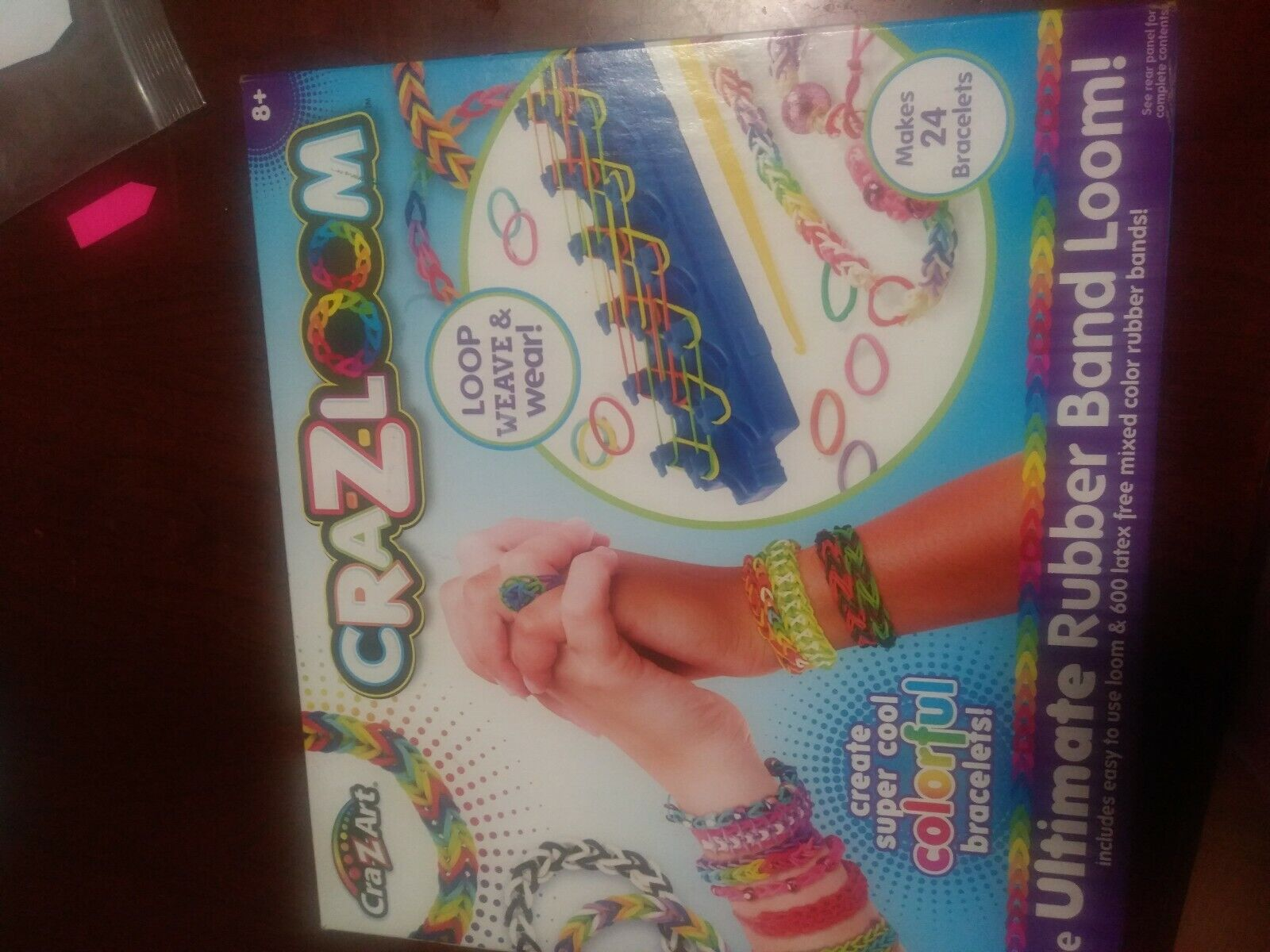 Kids activities CraZLoom Bracelet Maker Kit
