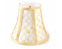 Mackenzie Childs Parchment Check Lamp Shade - Chandelier $44