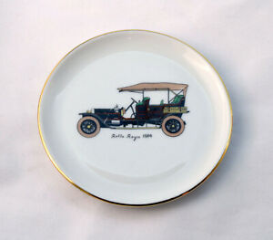 Vintage-Victoria-Made-in-Germany-with-Rolls-Royce-1904-Car-Pin-Dish-Small-Plate
