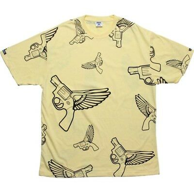 Just Crooks And Castles Flying Gun Canary T Shirt 840716can Cool In Summer And Warm In Winter Clothing, Shoes & Accessories