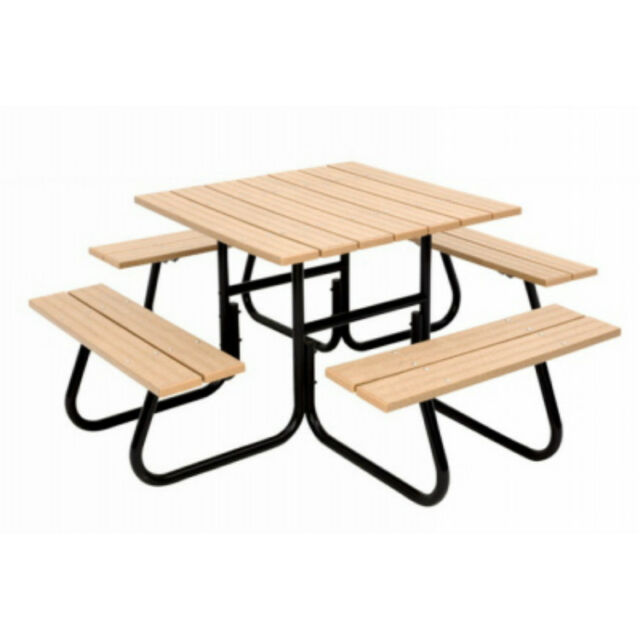 jack post christmas 4side picnic table frame fc 4411 unit each ebay rh ebay com picnic table frame home depot picnic table frame lowes
