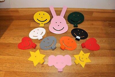 Appendiabiti Per Bambini-ideale Per Camere Da Letto, Vivaio, Stanza Dei Giochi-multi Colore Ava- Essere Distribuiti In Tutto Il Mondo