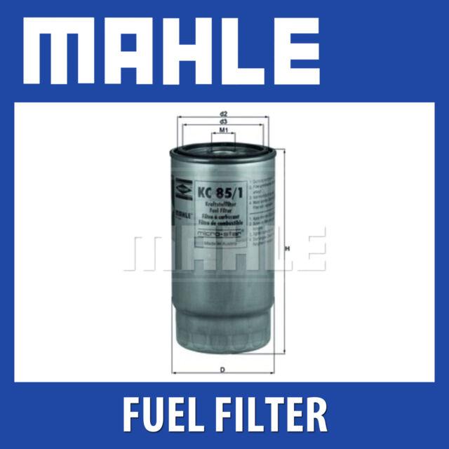 Mahle KL468 Fuel Filter for Land Rover Freelander L314 1.8 2.5 V6 OE WFL100160