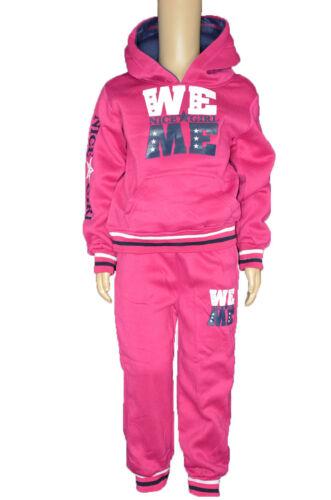Fille Jogging Costume Loisirs Costume Pull Avec Pantalon Survêtement//b-69