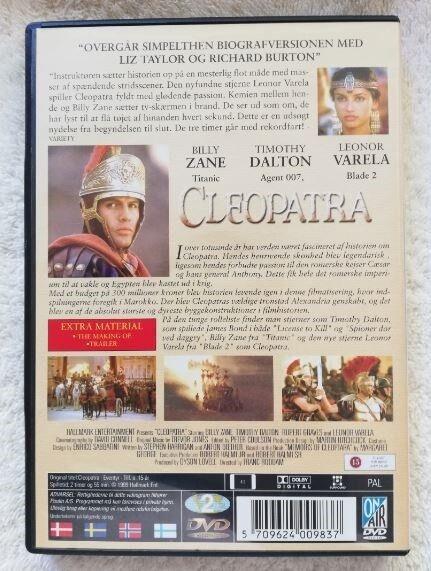 Cleopatra, DVD, drama