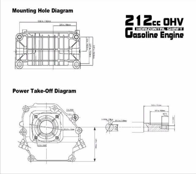 Sigma 65 Hp 212cc Ohv Horizontal Shaft Gas Engine Minibike Go Cart. Sigma 65 Hp 212cc Ohv Horizontal Shaft Gas Engine Minibike Go Cart Snowblower Ebay. Wiring. 212cc Ohv Engine Diagram At Scoala.co