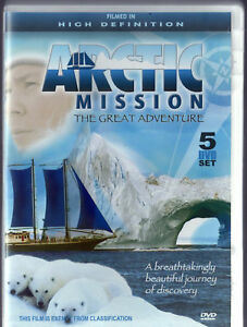 ARCTIC-MISSION-The-Great-Adventure-5-DVD-SET-R4-LIKE-NEW