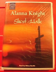 Alanna-Knight-Ghost-Walk-Rose-McQuinn-6-Tape-UNABR-Audio-Book-Hilary-Neville